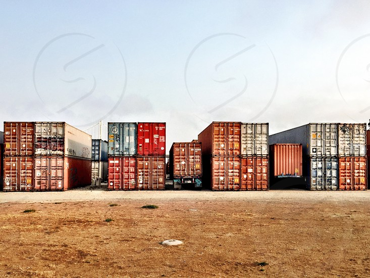 Shipping containers  photo
