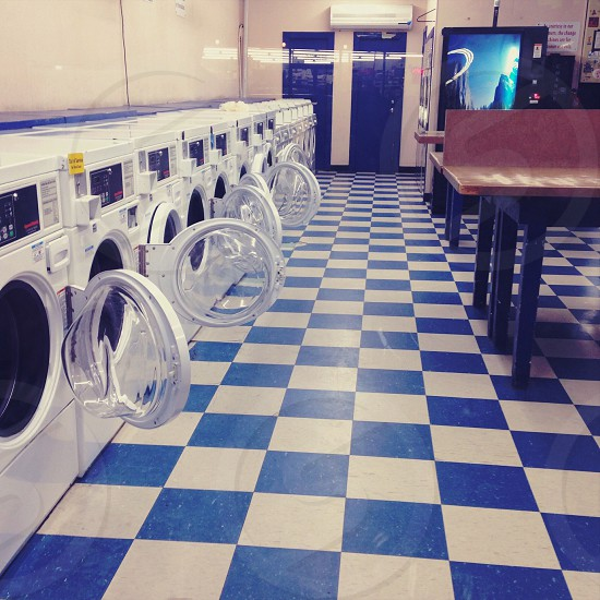 Lonely laundry day photo