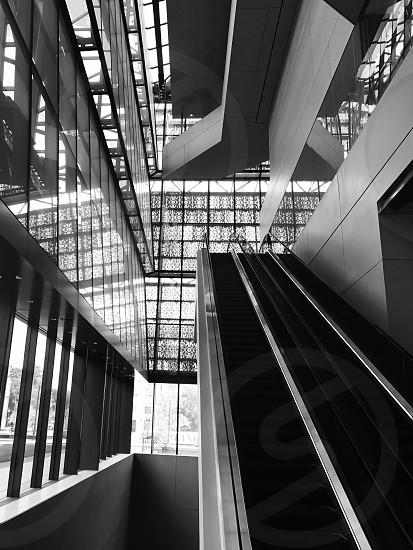 Black and white architect Washington DC photo