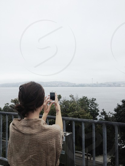 Hamilton Park Viewpoint in West Seattle.  photo