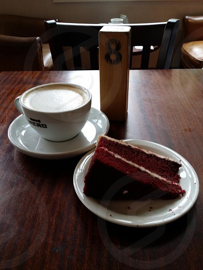 mmm coffee and cake photo