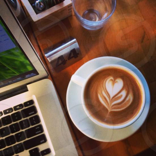 Morning coffee.  photo