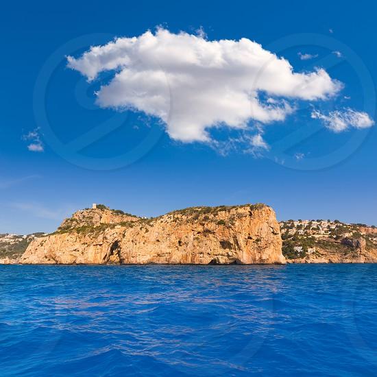 Javea Isla del Descubridor Xabia in Mediterranean Alicante at Spain photo