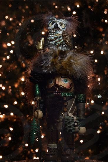 Nutcracker. Woodsman Christmas  photo