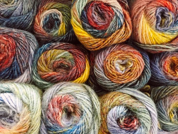 Hobbies pastimes knitting thread photo