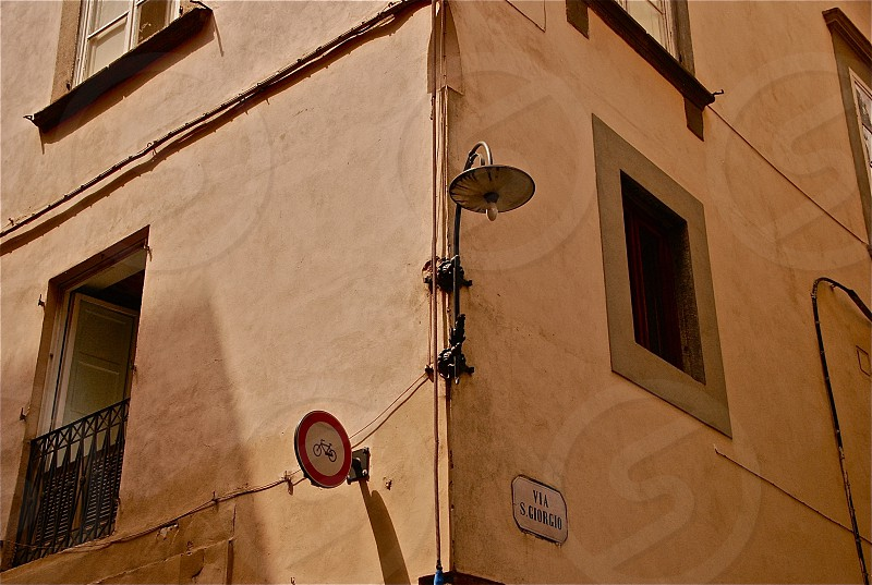 Corner of a building photo