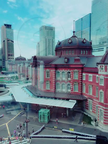 Tokyo Station station building Japan photo