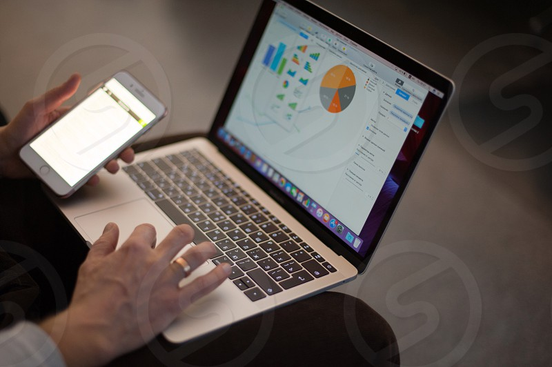 technology life style laptop smartphone tablet camera sincere business office workplace desktop iPhone photo