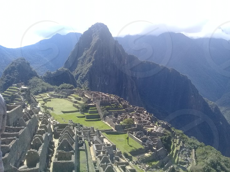 Machu Picchu City photo
