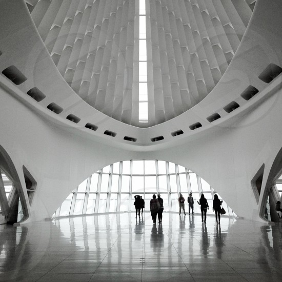Milwaukee Art Museum.  My favorite photo moment :-) photo