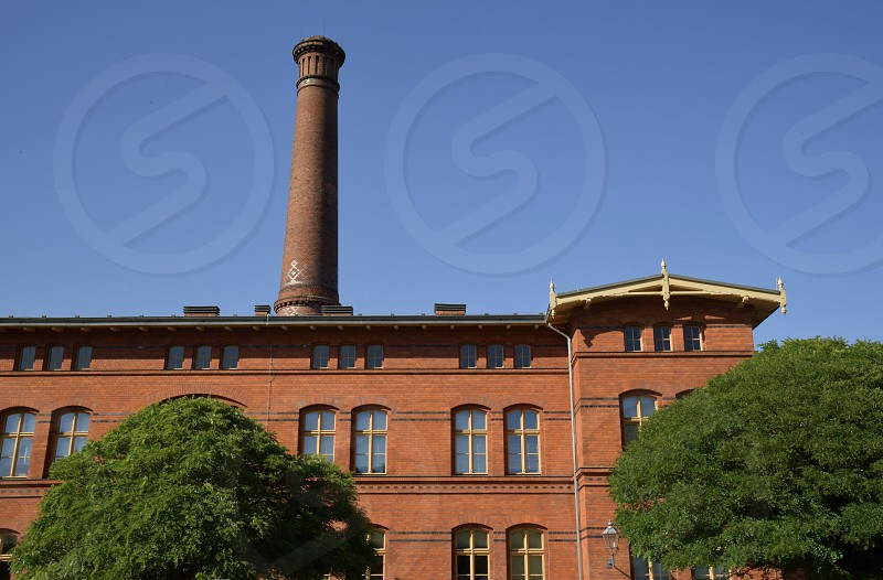 Old fabric plant in Berlin photo