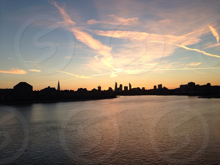 London City Sunset. photo
