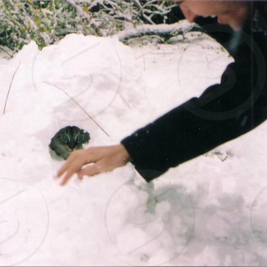 Sofia in her igloo photo