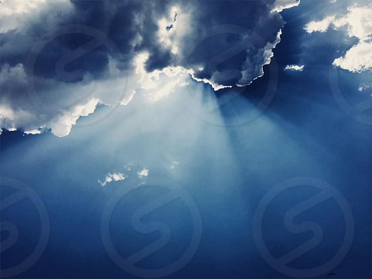 Sky dramatic clouds photo