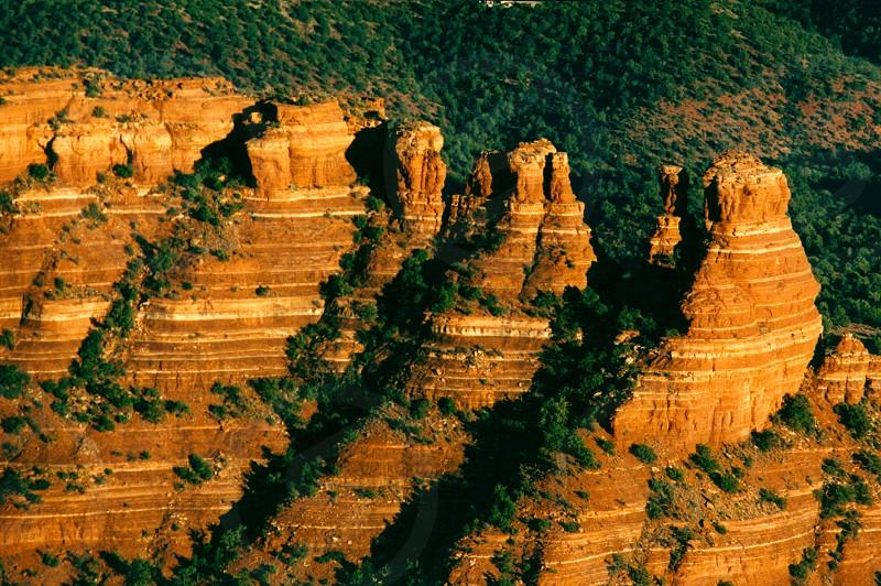 Secret Canyon Sadona AZ USA Aerial photo