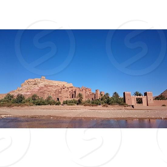 モロッコ  世界遺産 アイト・ベン・ハッドゥ photo