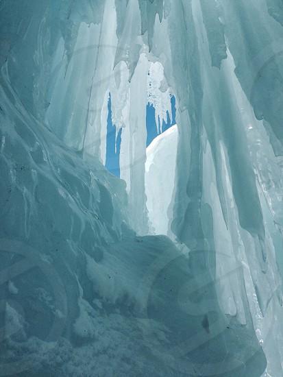 stalactites in awning photo