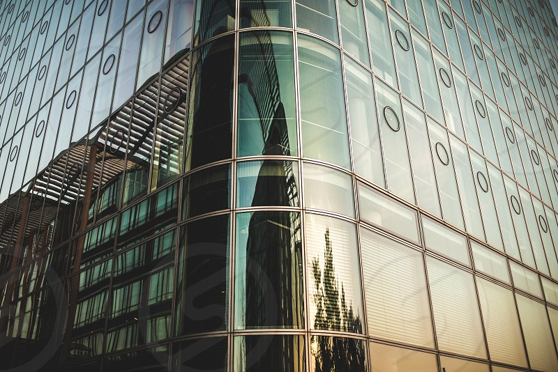 architecturecitysundowngoldlight.glasshouseofficemodern photo