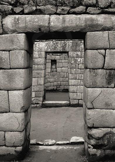 Doorways of Machu Picchu photo