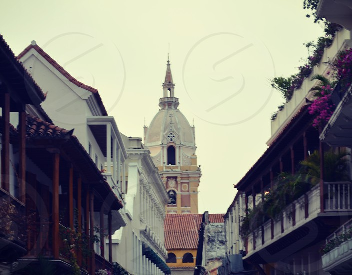 Cathedral of Cartagena Colombia. photo