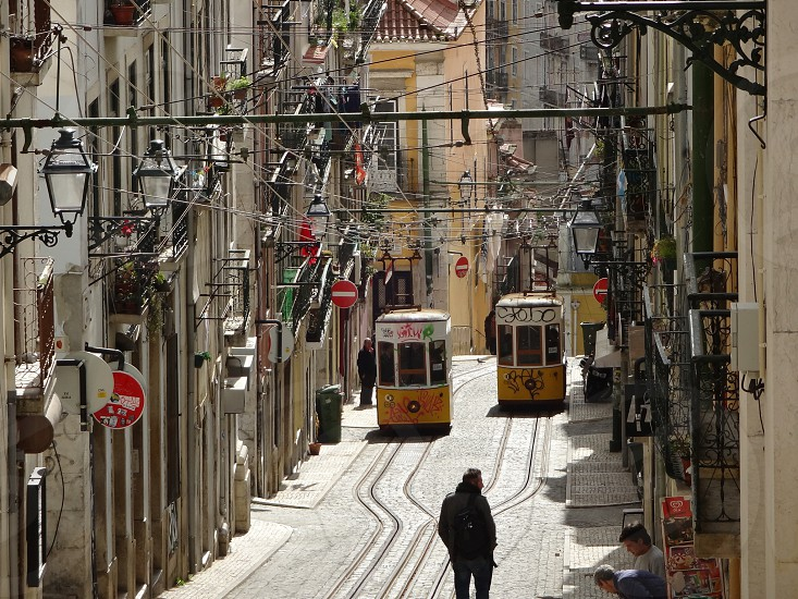 Portugal.Lisbon.Trams.CableCars.TRAVEL.ポルトガル.リスボン.ケーブルカー photo