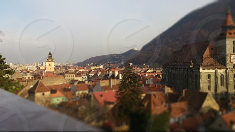A small view of Brasov. photo