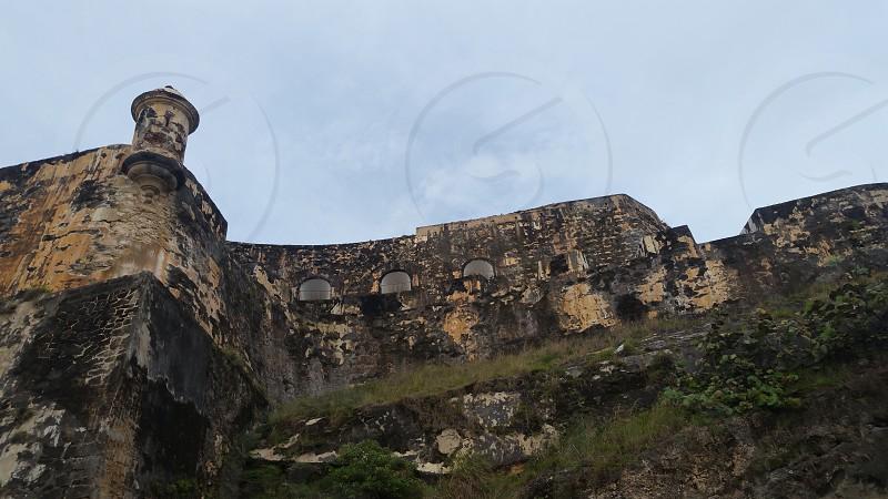 "Outside view of ""El Morro"" in San Juan Puerto Rico. photo"