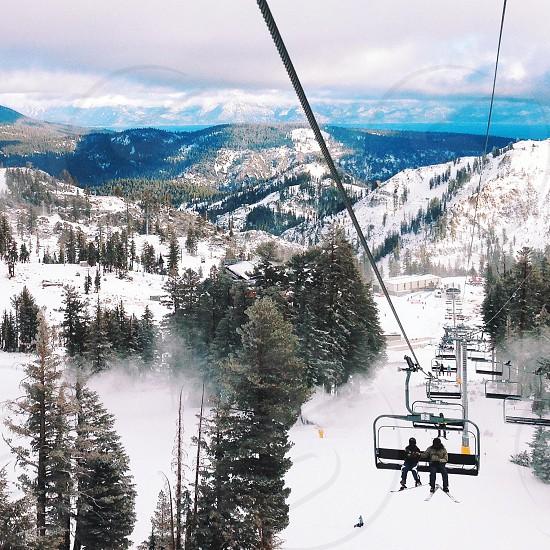 Lake Tahoe winter photo