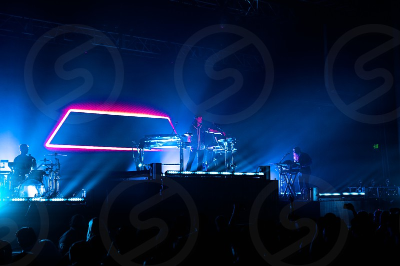 Concert photography taken in Los Angeles. photo