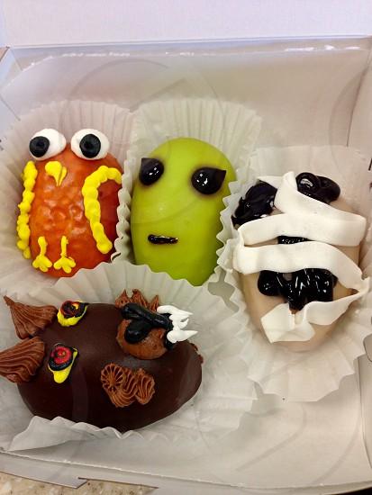 Halloween treats delicious decorative  photo