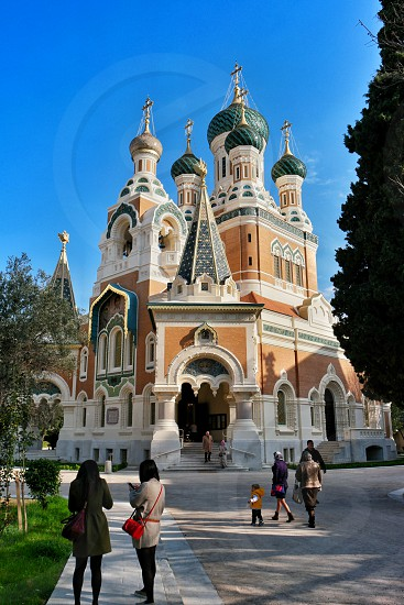 Russian Church in Nice France photo