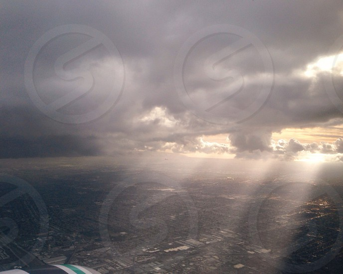 cloudy sky photography photo