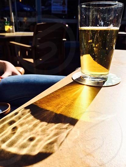 Glowing beer sunshine  photo