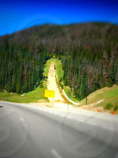 Runaway ramp off I-70 Colorado photo