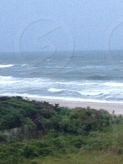 The Atlantic Ocean from the outer banks vaction  photo