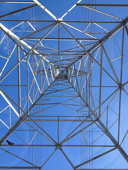 tower grid low angle photography photo