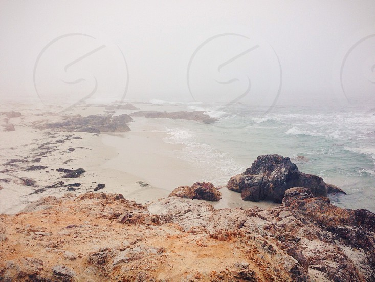 Asilomar State Beach in Pacific Grove CA.  photo