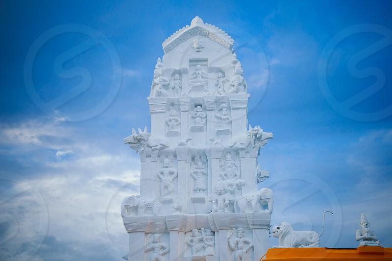 Hindu temple. Tongaat. KwaZulu-Natal. South Africa.  photo