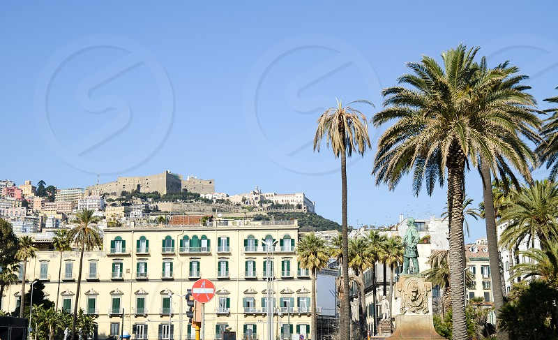 PCastel Sant'Elmo from Piazza Vittoria Naples ( Italy ) photo