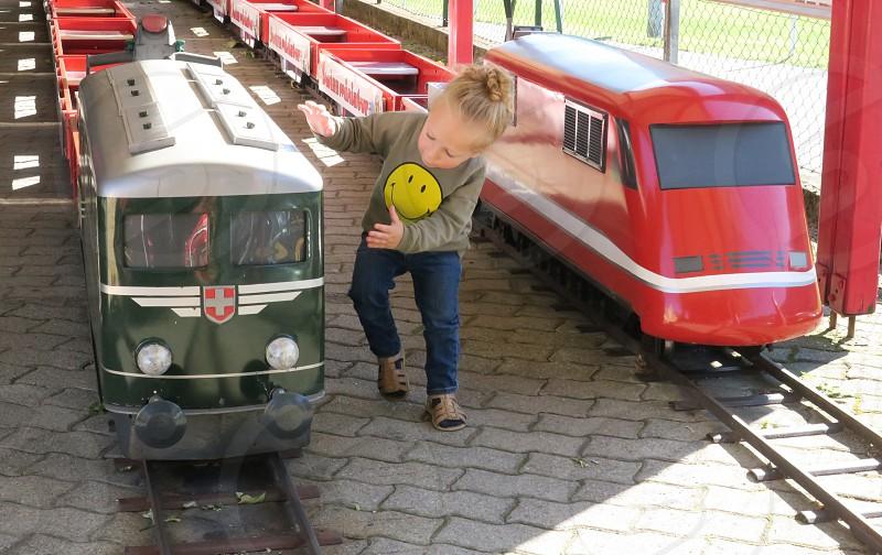 Swissminiatur train ride photo