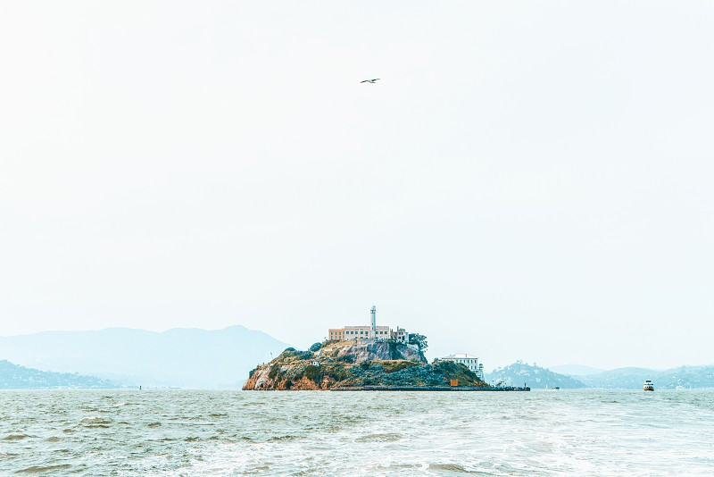 Alcatraz island in the san fransisco bay charter cruise photo