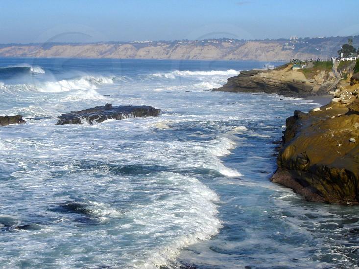 San Diego California - Coastline photo