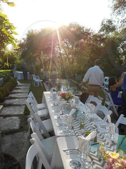 wedding reception photo  photo