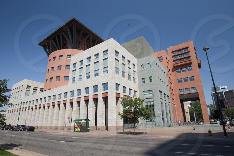 Municipal library Denver Colorado photo