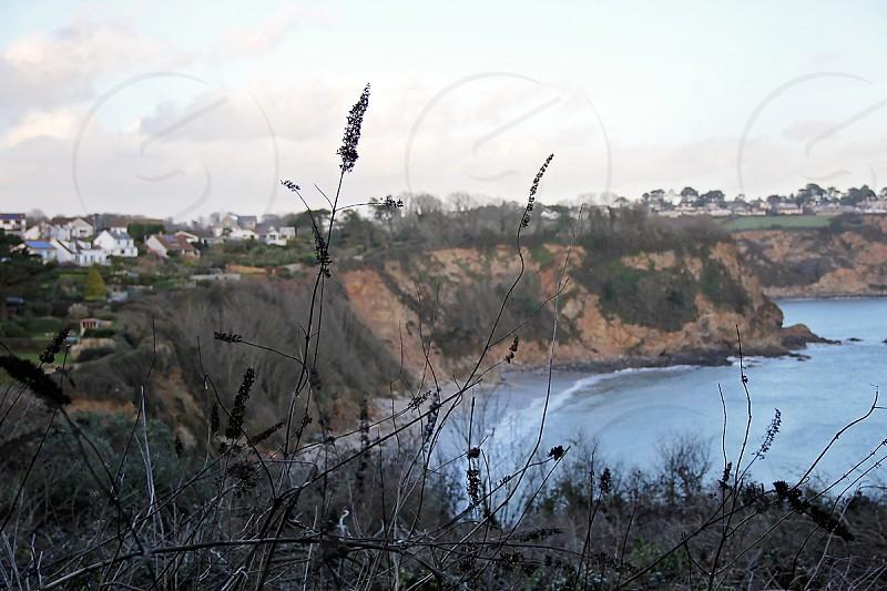 beach in Cornwall photo