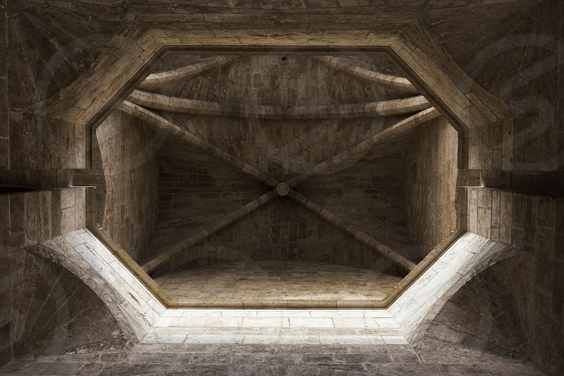 abstract romanic vault photo