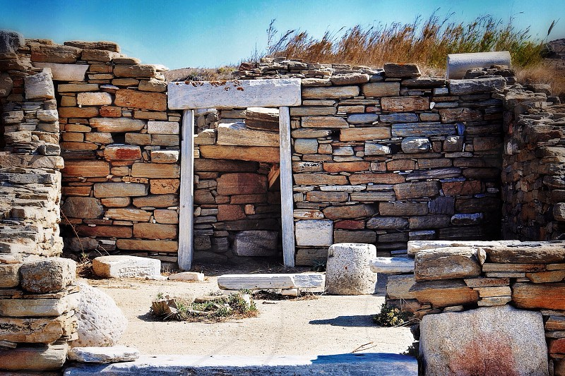 The Ruins at Delos photo