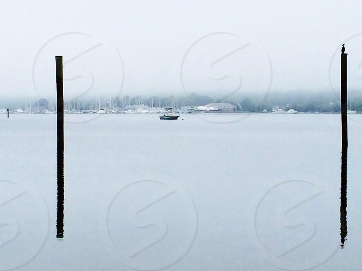 black fishing boat photo