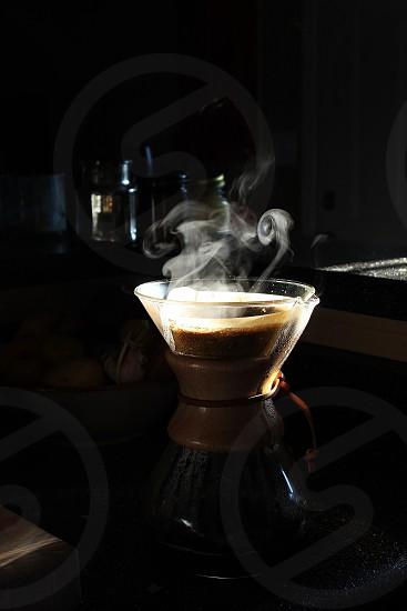 Steaming Chemex photo