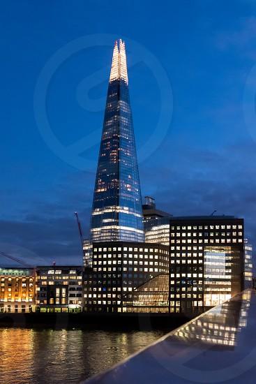 The Shard in London photo